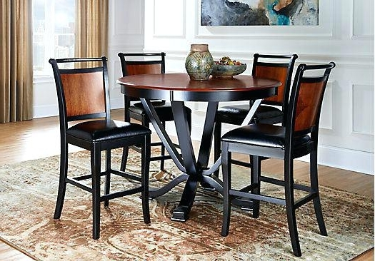 Most Recent Jensen 5 Piece Counter Sets Within 5 Pc Counter Height Dining Set Exquisite Porter 7 Piece Reviews On (View 17 of 20)