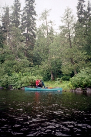 Most Recent Larry's Canoe Journals – Chapleau River, Ontario, 1995 Regarding Chapleau Extension Dining Tables (View 11 of 20)