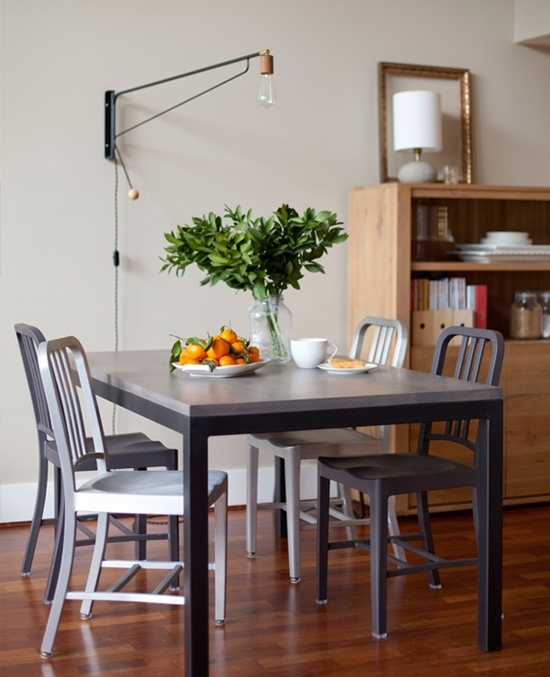 Most Recent Lights For Dining Tables In 7 Creative Dining Room Lighting Ideas (View 8 of 20)