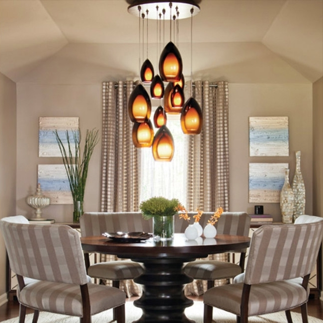 Most Recent Lights For Dining Tables Intended For Dining Room Lighting – Chandeliers, Wall Lights & Lamps At Lumens (View 7 of 20)