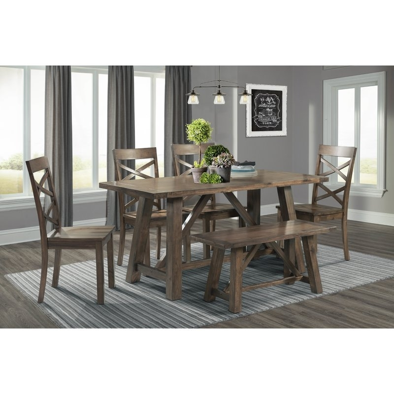 Most Recent Logan 6 Piece Dining Sets With Regard To Bailee 6 Piece Dining Set & Reviews (View 12 of 20)