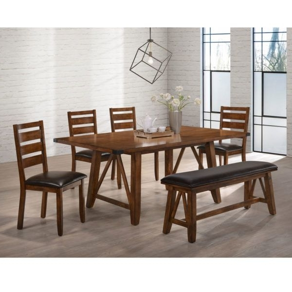 Featured Photo of Logan 6 Piece Dining Sets