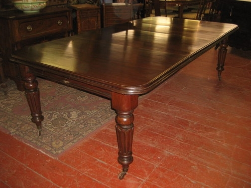 Most Recent Mahogany Extending Dining Tables And Chairs Intended For Victorian Mahogany Extending Dining Table – Antiques Atlas (View 13 of 20)