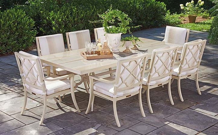 Most Recent Misty Garden Furniture Pertaining To Garden Dining Tables (View 9 of 20)