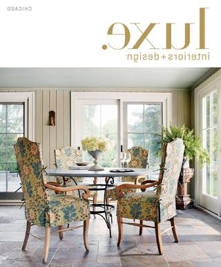 Most Recent Palazzo 7 Piece Dining Sets With Mindy Slipcovered Side Chairs Intended For Luxe Magazine Summer 2015 Chicagosandow® – Issuu (View 9 of 20)