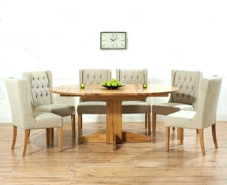 Most Recent Round Dining Table For 6 White Dining Table Chairs Dining Tables 6 Pertaining To Extendable Round Dining Tables Sets (View 10 of 20)