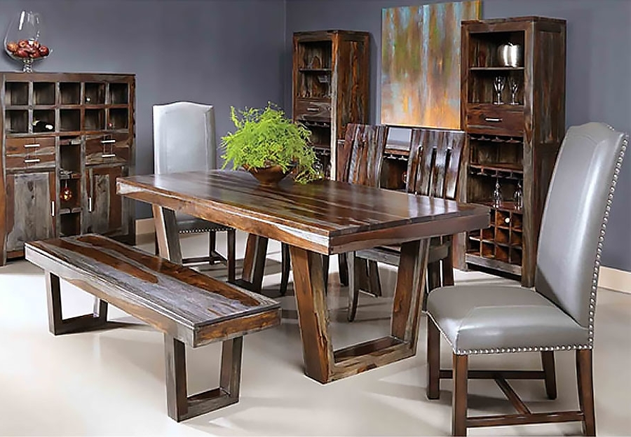 Most Recent Sheesham Dining Tables And Chairs Within The Furniture Warehouse – Beautiful Home Furnishings At Affordable (View 16 of 20)