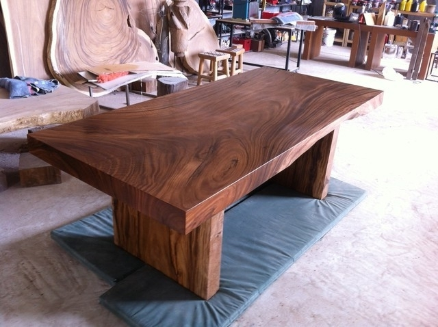 Most Recent Solid Wood Dining Tables – Soulpower Regarding Solid Wood Dining Tables (View 11 of 20)