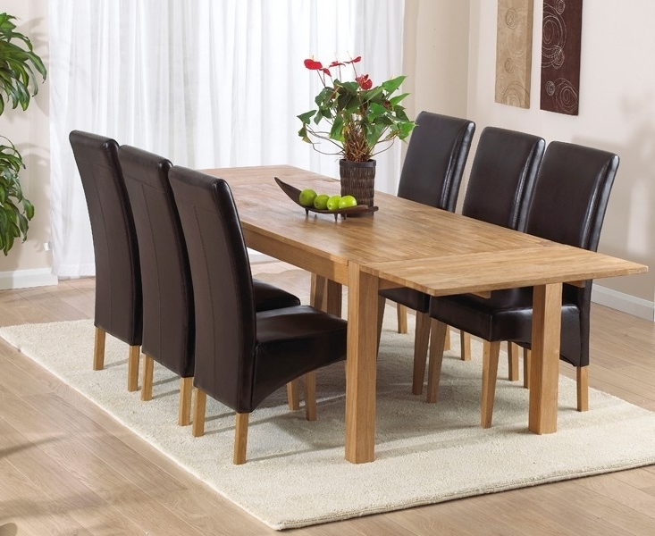 Most Recent Verona Dining Tables Inside Buy Mark Harris Verona Solid Oak Dining Table – 180cm Rectangular (View 2 of 20)