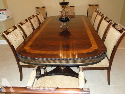 Most Recent Victor Dining Tables For Antique Penn Table Company Walnut Dining Table And Chairs For Sale (View 8 of 20)