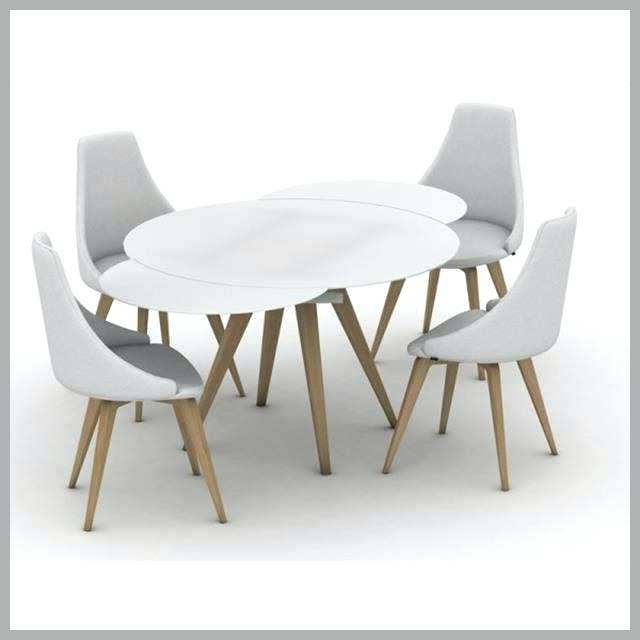 Most Recent White Round Extendable Dining Tables Within White Round Extendable Dining Table Extending Small Brilliant Smart (View 17 of 20)