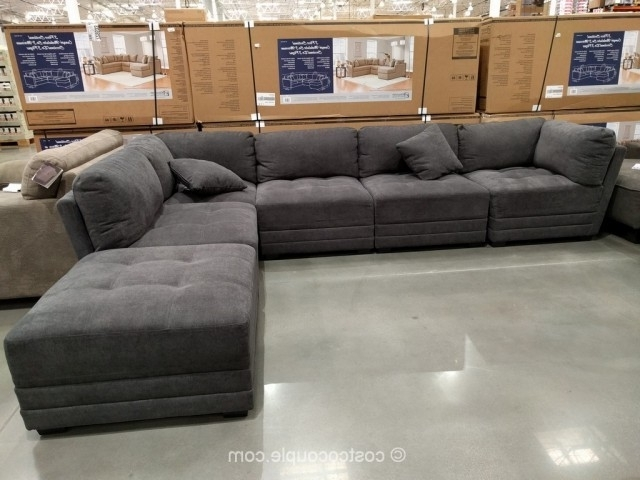 Most Recently Released 6 Piece Sectional Couch Modular Fabric Costco 2 640×480 In Norfolk Grey 6 Piece Sectionals (View 11 of 15)