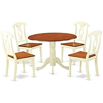 Most Recently Released Amazon – Target Marketing Systems Tms 5 Piece Virginia Dining Inside Jaxon 5 Piece Extension Counter Sets With Wood Stools (View 12 of 20)