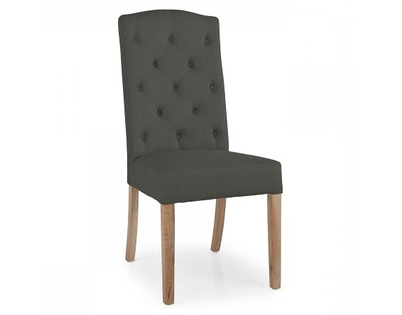 Most Recently Released Button Back Dining Chairs For Stanza Button Back Dining Chair (View 14 of 20)