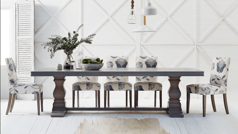 Most Recently Released Cambridge Herringbone Dining Table (View 9 of 20)