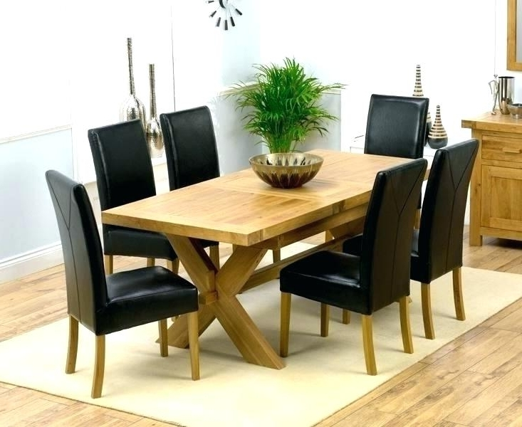 Most Recently Released Cheap Extending Dining Table And Chairs Popular Black Dining Table For Extending Dining Tables And 6 Chairs (View 14 of 20)