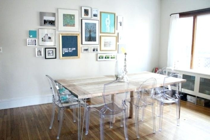 Most Recently Released Clear Dining Table And Chairs Clear Dining Room Table Clear Dining With Clear Plastic Dining Tables (View 13 of 20)