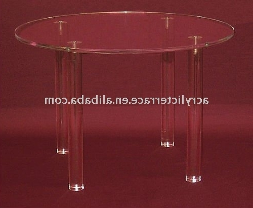 Most Recently Released Clear Round Acrylic Dining Table – Buy Clear Round Acrylic Dining Intended For Round Acrylic Dining Tables (View 6 of 20)