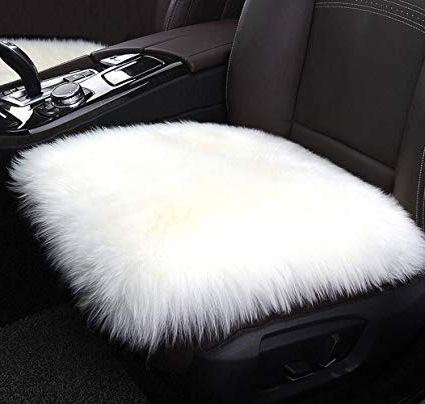 Most Recently Released Combs 7 Piece Dining Sets With  Mindy Slipcovered Chairs With Amazon: Mrealgal Faux Sheepskin Car Seat Cushion, Fur Square (View 15 of 20)