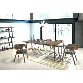 Most Recently Released Contemporary Dining Poppy 5 Dining Set Cool Dining Table Sets Intended For Contemporary Dining Sets (View 17 of 20)