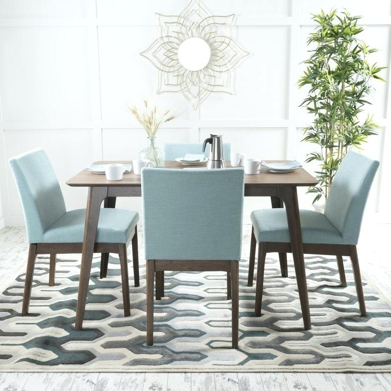 Most Recently Released Contemporary Dining Room Chairs Pertaining To Contemporary Dining Room Set Amazing Of Contemporary Dining Table (View 13 of 20)