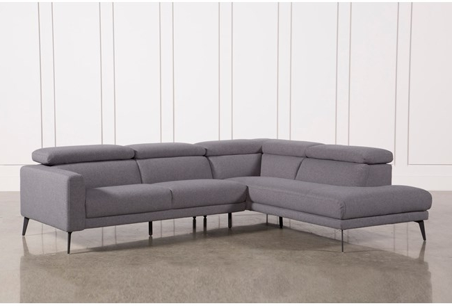 Most Recently Released Cosmos Grey 2 Piece Sectionals With Raf Chaise For Living Spaces Chaise Lounge Marvelous Cosmos Grey 2 Piece Sectional (View 10 of 15)