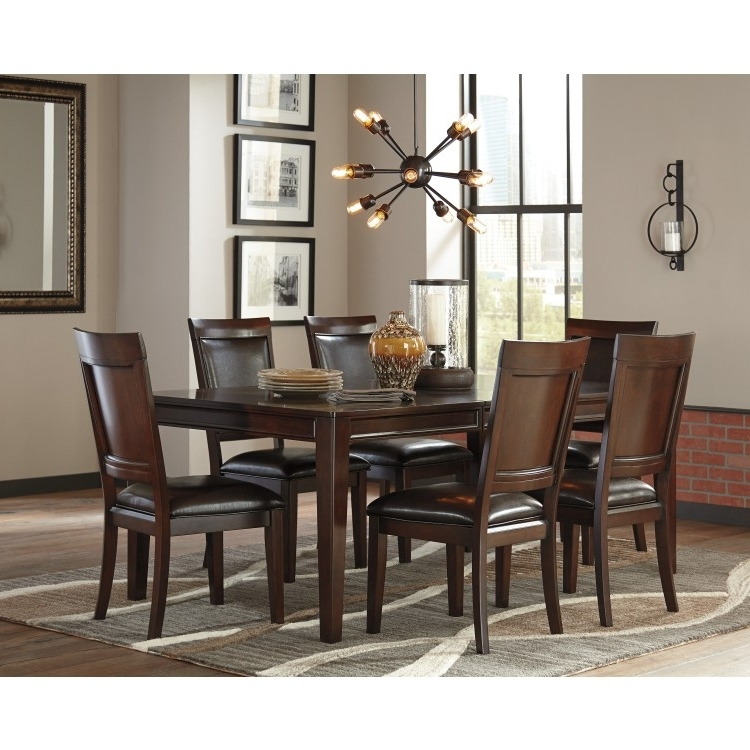 Most Recently Released Crawford 7 Piece Rectangle Dining Sets For Dining Set (View 3 of 20)