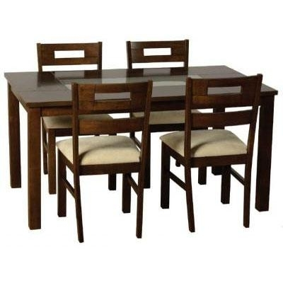 Most Recently Released Dark Wooden Dining Table Set @ Homehighlight.co (View 12 of 20)