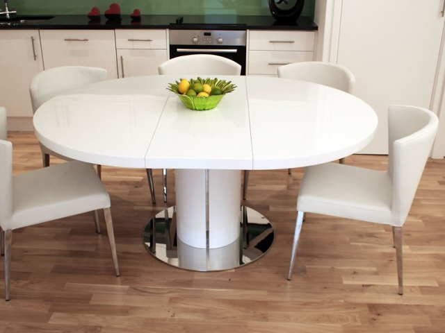 Most Recently Released Extending Dining Table With 10 Seats Pertaining To 10 Seat Round Extendable Dining Table Best Modern Furniture Circular (View 16 of 20)