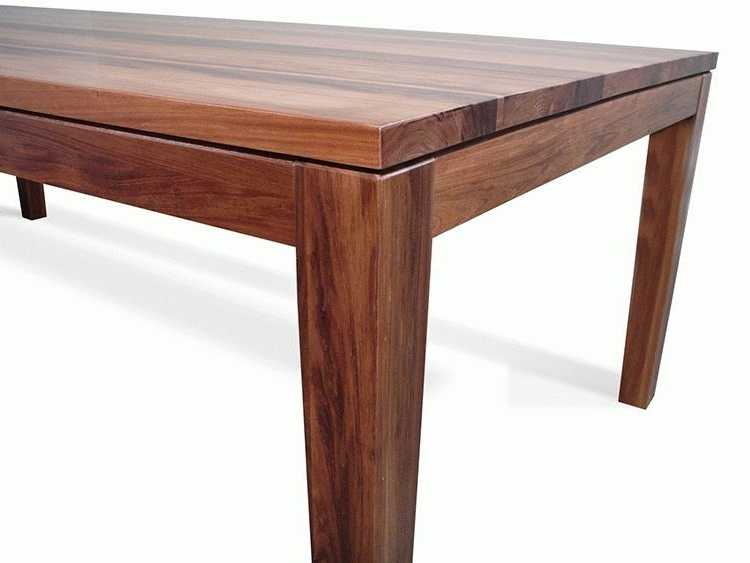 Most Recently Released Hamilton Dining Tables With Hamilton Tasmanian Blackwood 2400 Dining Table (View 14 of 20)