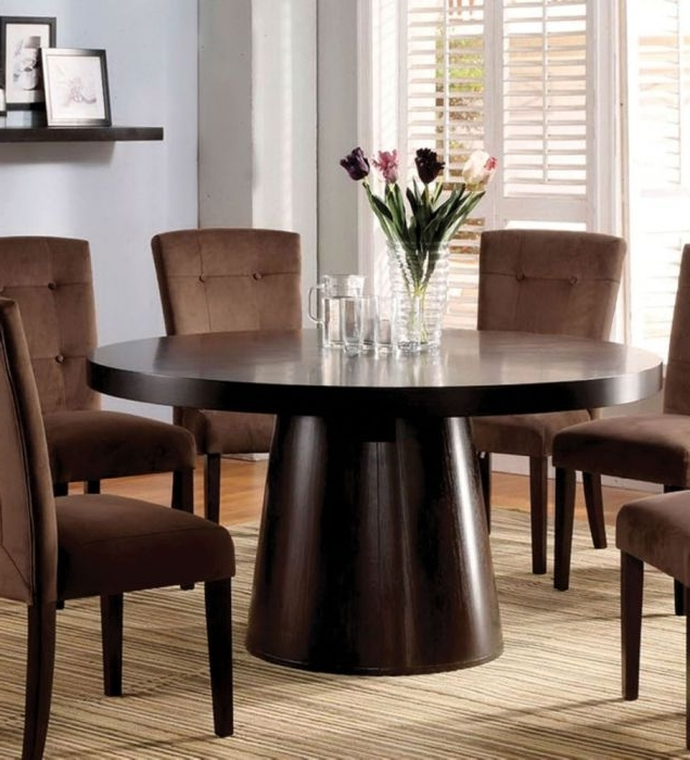 Most Recently Released Havana Dining Tables Regarding Furniture Of America Cm3849T Havana Contemporary Espresso Finish (View 8 of 20)