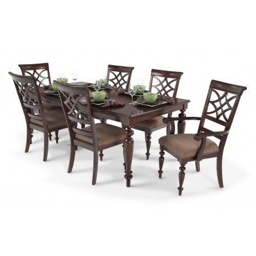 Most Recently Released Helms 7 Piece Rectangle Dining Sets In Cheap 7 Piece Dining Set (View 6 of 20)
