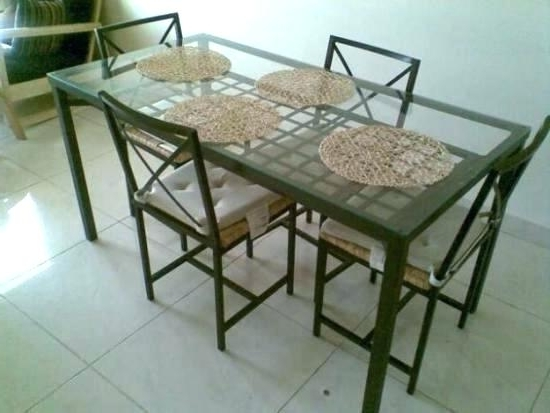 Most Recently Released Ikea Round Glass Top Dining Tables Within Ikea Glass Kitchen Table Glass Dining Table Glass Table Dining (View 8 of 20)