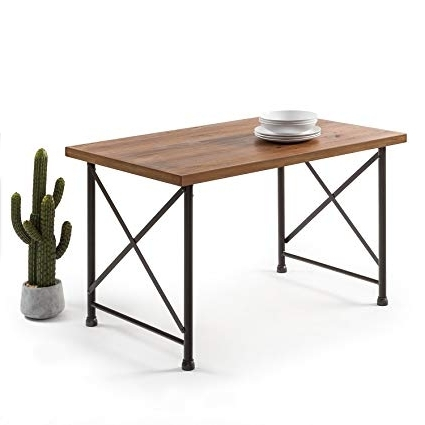 Most Recently Released Industrial Style Dining Tables Within Amazon – Zinus Industrial Style Dining Table – Tables (View 16 of 20)