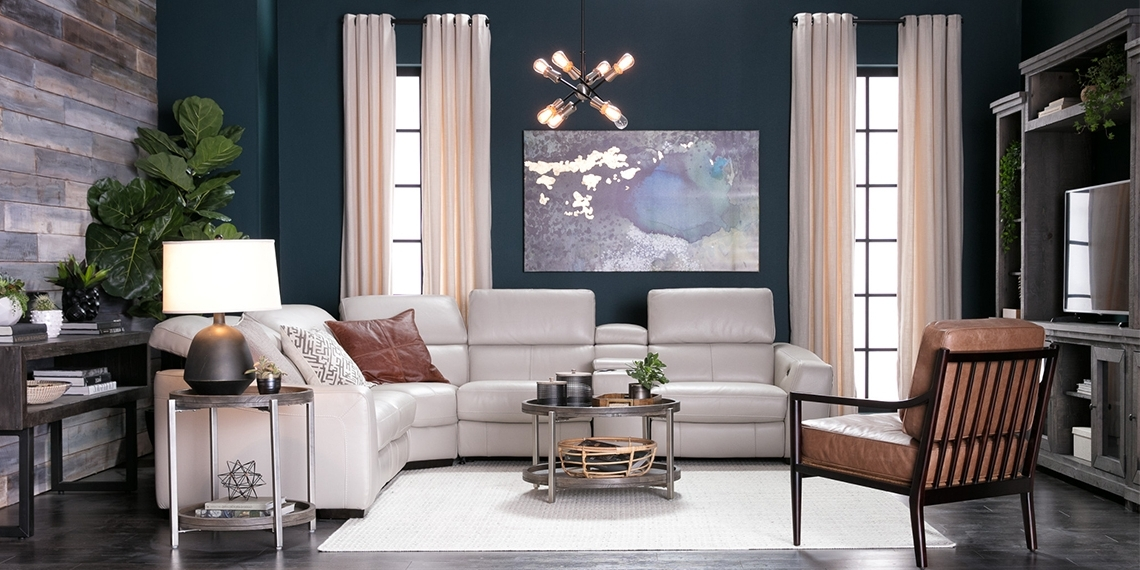 Featured Photo of Kristen Silver Grey 6 Piece Power Reclining Sectionals