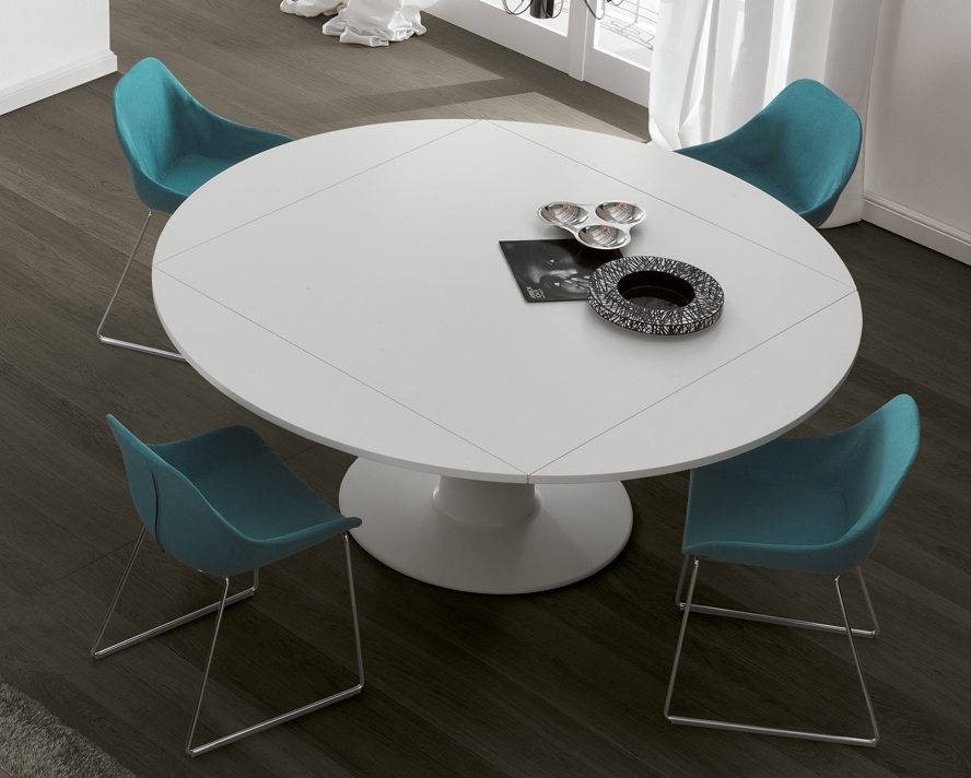 Most Recently Released Large White Round Dining Tables Regarding Jesse Moon Dining Table (View 7 of 20)