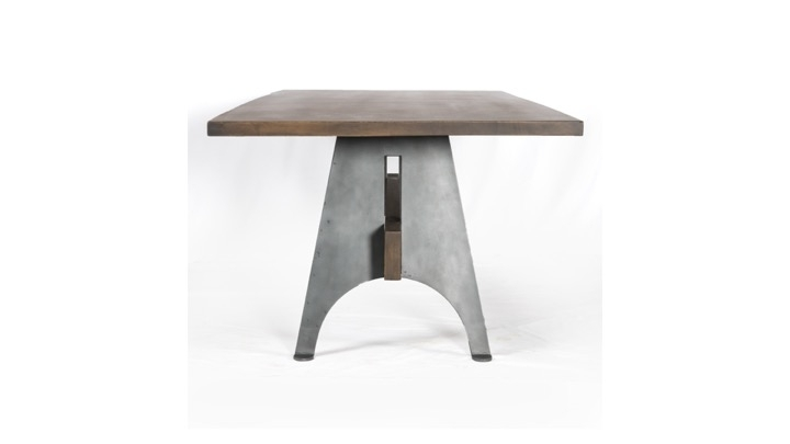 Most Recently Released Mango Wood/iron Dining Tables With Regard To Mango Wood And Metal Dining Table (View 20 of 20)