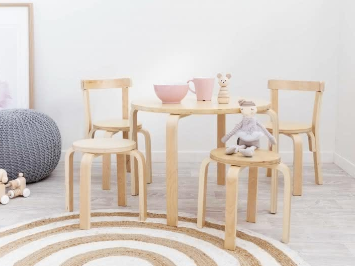 Most Recently Released Mocka Hudson Kids Table And Chairs (View 18 of 20)