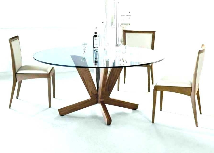 Most Recently Released Modern Round Wood Dining Table – Buxenz Throughout Circle Dining Tables (View 9 of 20)