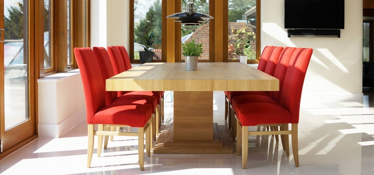 Most Recently Released Oak Dining Tables Inside Oak Dining Tables (View 10 of 20)