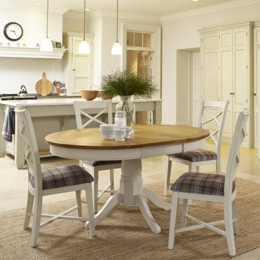 Most Recently Released Round Oak Dining Tables And Chairs Intended For Buy Oak Dining Table & Furniture (View 7 of 20)
