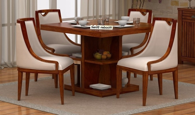 Most Recently Released Small 4 Seater Dining Tables Pertaining To The Advantages You Get From A Four Seater Dining Table Arrangement (View 7 of 20)