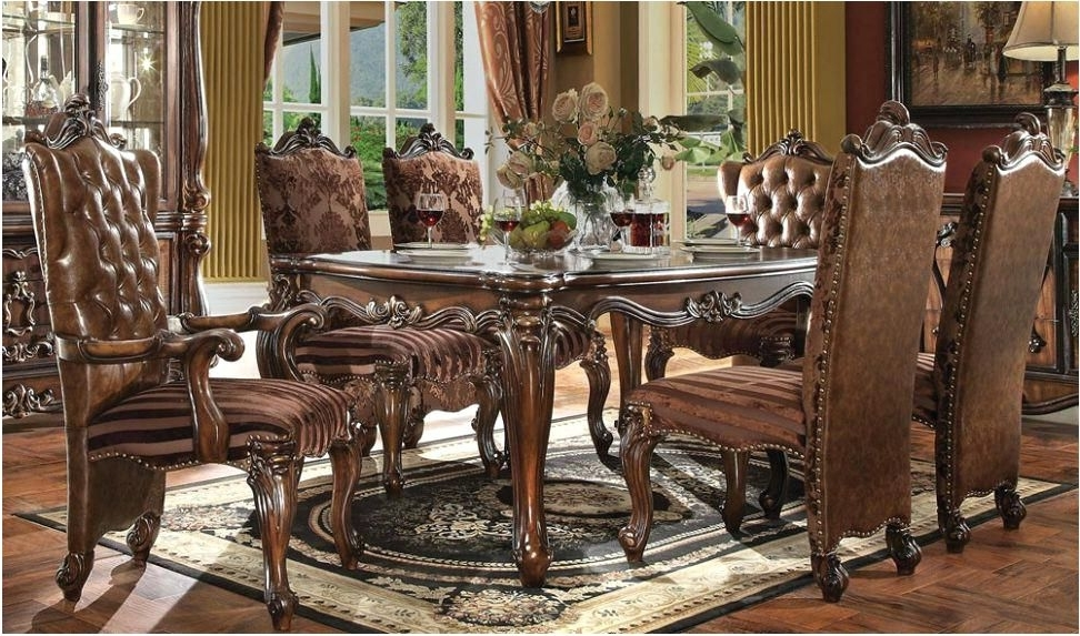 Most Recently Released Traditional Dining Tables Inside Magnificent Reclaimed Wood Dining Table Traditional Dining Tables (View 4 of 20)