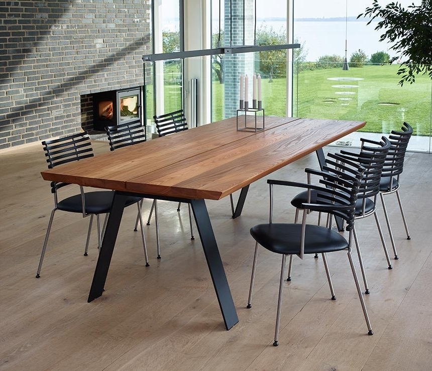 Most Up To Date Angular Dining Table From Denmark – Dm3200 – Wharfside For Danish Dining Tables (View 12 of 20)