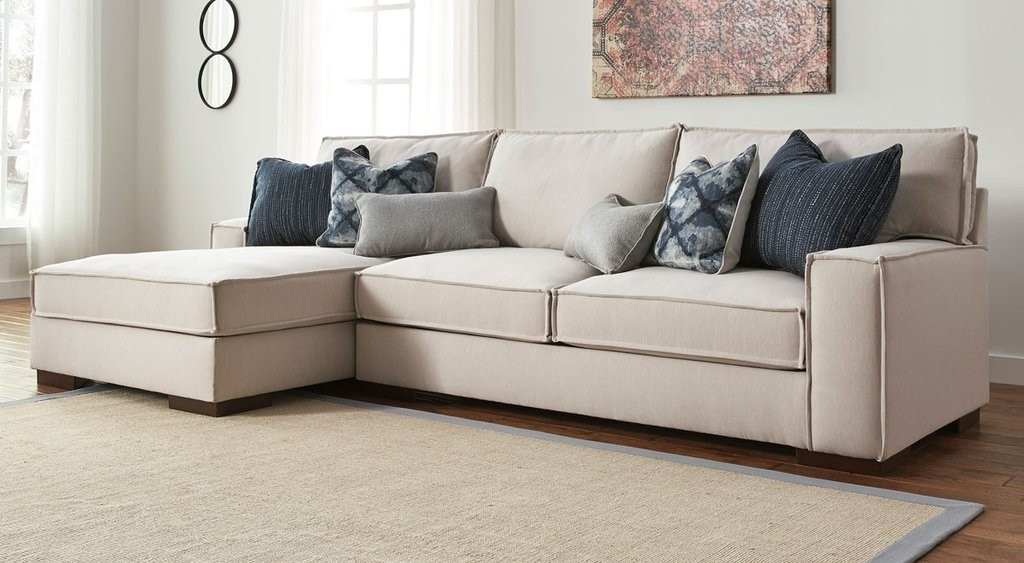 Most Up To Date Arrowmask 2 Piece Sectionals With Laf Chaise Inside 2 Piece Sectional Arrowmask W Laf Chaise Living Spaces 223426 Grey (View 3 of 15)