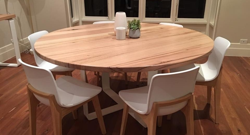 Most Up To Date Circle Dining Tables In Get The Best Round Dining Table For 6 – Home Decor Ideas (View 10 of 20)