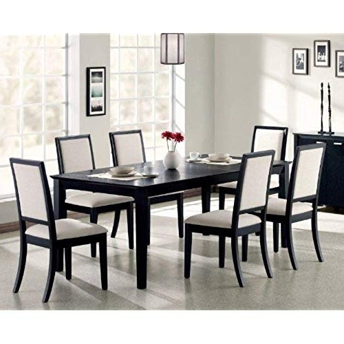 Most Up To Date Contemporary Dining Tables Sets Inside Contemporary Dining Room Sets: Amazon (View 16 of 20)