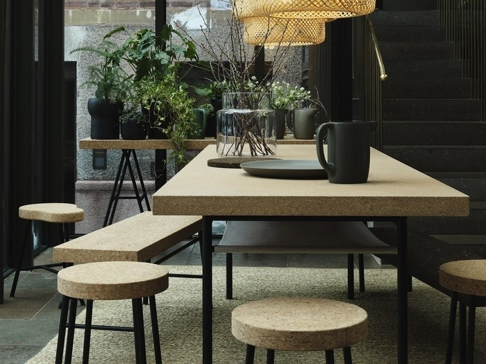 Most Up To Date Cork Dining Tables With  (View 11 of 20)