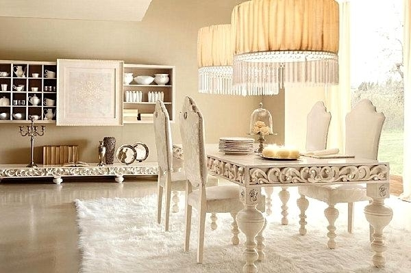 Most Up To Date Cream Dining Tables And Chairs Intended For Favorable Cream Dining Tables Chairs Luxurius Home An Intricate (View 17 of 20)