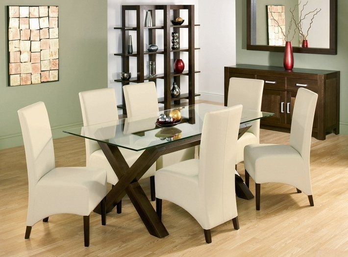 Most Up To Date Dining Room Glass Tables Sets Regarding 3 Essential Considerations When Choosing Glass Dining Room Table (View 14 of 20)
